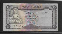 Yémen - 20 Rials - Pick N°26 - TB - Yemen