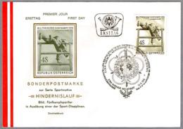 CAMPEONATO DEPORTIVO MILITAR - MILITARISCHER FUNFKAMPF. SPD/FDC Wiener Neustadt 1973 - Militares