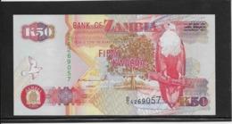 Zambie - 50 Kwacha - Pick N°37a - NEUF - Zambia