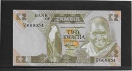 Zambie - 2 Kwacha - Pick N°24c - NEUF - Zambie