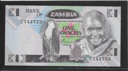 Zambie - 1 Kwacha - Pick N°23a - NEUF - Zambie