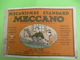 Catalogue MECCANO/ Mécanismes Standard/Meccano France Ltd /vers 1925  CAT267 - Advertising