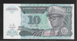 Zaïre - 10 Zaïres - Pick N°54 - NEUF - Zaire