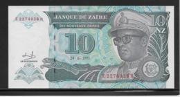 Zaïre - 10 Zaïres - Pick N°55 - NEUF - Zaïre