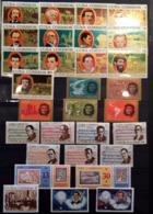 OldTreasure Cuba 1966 1968  1970 1972 MNH  5 Sets - Ongebruikt