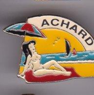 Pin's  PIN UP ACHARD - Pin-ups