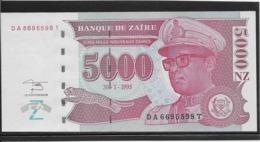 Zaïre - 5000 Zaïres - Pick N°69 - NEUF - Zaire