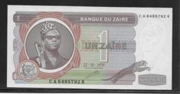 Zaïre - 1 Zaïre - Pick N°19a - NEUF - Zaire
