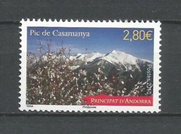 ANDORRE 2010 N°689 NEUFS ** - Andorra Francese