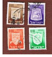 ISRAELE (ISRAEL)  - SG 294.299  - 1966  CIVIC ARMS  - USED ° - Israël