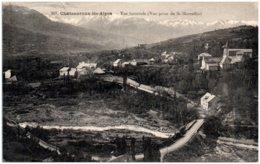 05 CHATEAUROUX-les-ALPES Vue Générale (vue Prise De St-Marcellin) - Francia