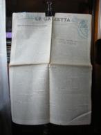 (G47) LA GAZZETTA ORGANO DEL PARTITO NAZIONALE FASCISTA 26 MARZO 1930 - MESSINA N° 73 - Riviste & Giornali