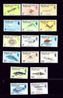 Brit Ant Territories 102-16 MNH 1984 Definitive Set - British Antarctic Territory  (BAT)
