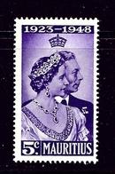 Mauritius 229 MNH 1948 Low Value Of KGVI Silver Wedding - Mauritius (...-1967)