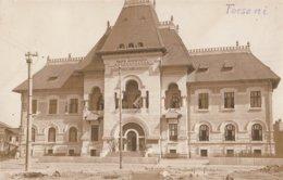 CARTE PHOTO ALLEMANDE - GUERRE 14-18 - FOCSANI - ROUMANIE - BÂTIMENT PUBLIC ? - Rumania