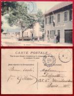 CPA...JOUGNE...LA FRONTIERE FRANCO-SUISSE - France