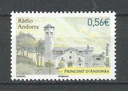 ANDORRE 2010 N°695 NEUF ** - Andorra Francese