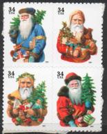 USA 2001 Santa Claus - Unused Stamps
