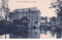 CRECY SUR SERRE(MOULIN) - Andere Gemeenten