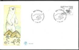 Greenland 1997 Mi 309 FDC ( FDC ZE3 GNL309 ) - Ours