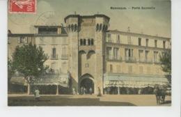 MANOSQUE - Porte Saunerie (belle Carte Toilée ) - Manosque