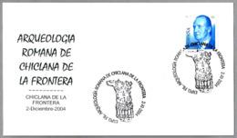 Arqueologia Romana - ESCULTURA THORACATA DE EMPERADOR ROMANO. Chiclana De La Frontera, Cadiz, Andalucia, 2004 - Arqueología