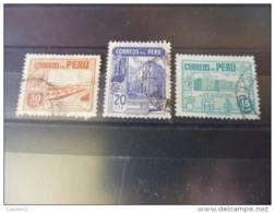 PEROU TIMBRE  Ou SÉRIE   YVERT N° 410.413 - Peru