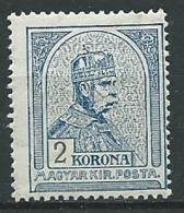 Hongrie    -   Yvert N°  104 * (I)   Ad 39619 - Ungebraucht