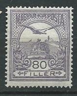 Hongrie    -   Yvert N°  124 *   Ad 39625 - Hongrie
