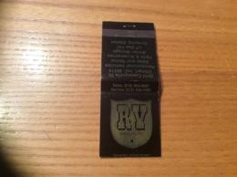 "Pochette D'allumettes Etats-Unis ""RY AMERICA INC - Elkhart, Indiana"" - Boites D'allumettes"