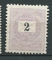 Hongrie    -   Yvert N°  24 (A) *  Ad 39631 - Hongrie