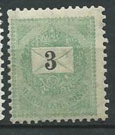 Hongrie    -   Yvert N°  19 (A) *  Ad 39633 - Hongrie