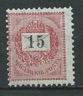 Hongrie    -   Yvert N°  30 (B) *  Ad 39634 - Hongrie