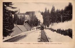 TRANSPORT DU BOIS Avec TRAIN FORESTIER / TIMBER TRANSPORT On RAILWAY - COVASNA / COMANDOU ~ 1933 (ad005) - Roumanie