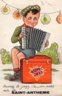 OUVREZ LE JAZZ  C'EST UN PETIT AIR DE SAINT-ANTHEME (CARTE A SYSTEME) - Autres Communes