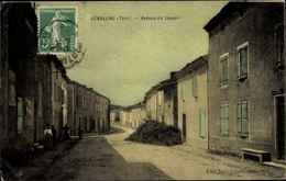 Cp Sémalens Tarn, Avenue De Lavaur - Francia