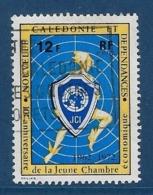 """Nle-Caledonie YT 385 """" Jeune Chambre économique """" 1972 Oblitéré - Neukaledonien"""