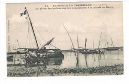 CPA (17) La Tremblade . La Pêche Des Huitres  (E.849) - La Tremblade