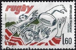France 1982 - Mi 2355 - YT 2236 ( Rugby ) - Gebruikt