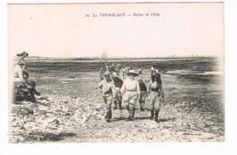 CPA (17) La Tremblade. Retour De Pêche  (E.851) - La Tremblade