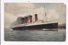 CP BATEAU S.S.LUSITANIA - Dampfer