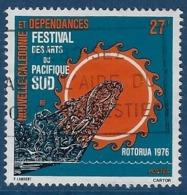 """Nle-Caledonie YT 397 """" Festival Des Arts """" 1976 Oblitéré - Neukaledonien"""