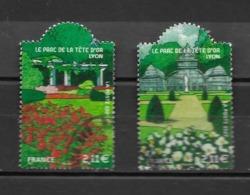4047 4048 OBL  Y & T Jardins De France   15B/05 - Usados