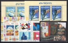 EUROPA CEPT 2003 Annata Completa Con Foglietti MNH - Europa-CEPT
