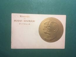 Cartolina Ricordo Dei Nuovi Sovrani D'Italia - 1910 - Cartoline