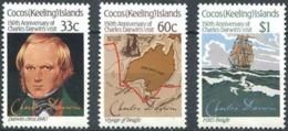 Cocos 142/144 ** MNH. 1986 - Cocos (Keeling) Islands