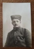 Carte Photo - Mutterstadt 1919 - Militaire Verrier Anatole 8 ème Régiment De Zouaves, Décoré Médaille, Croix De Guerre - Regimientos