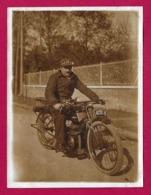 Cinq Photographies Des Années 1930 - Sortie à Motocyclette - Other