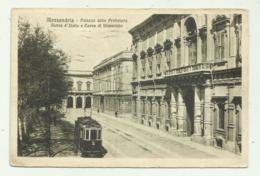 ALESSANDRIA - PALAZZO DELLA PREFETTURA BANCA D'ITALIA E CASSA DI RISPARMIO -  VIAGGIATA FP - Alessandria