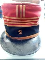 Kepi Polo De Commandant WWI - Headpieces, Headdresses